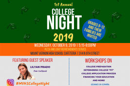 1st Annual College Night!