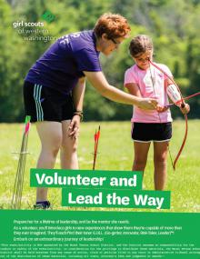 Girl Scouts Volunteer Information