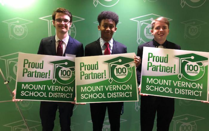 Proud Partner: Quincy Nzokah & MVHS Students