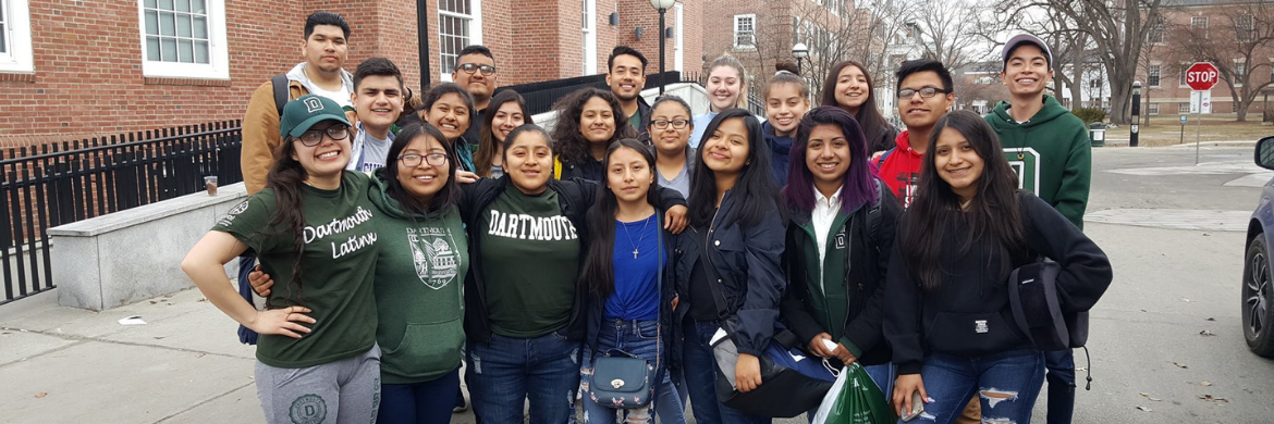 MVHS Migrant Leaders Club Visit Dartmouth!